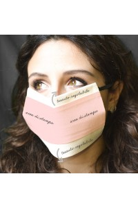 Area di stampa per la personalizzazione della mascherina