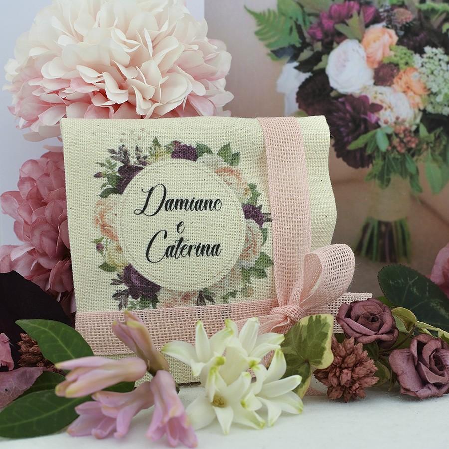 Bustina porta confetti per matrimonio